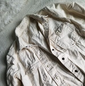Pins and Needles Button Down